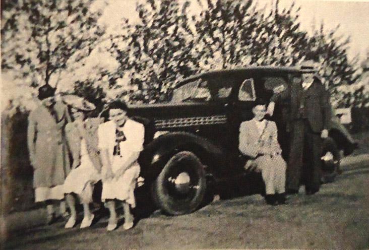 De Chevrolet van fam Oudgenoeg