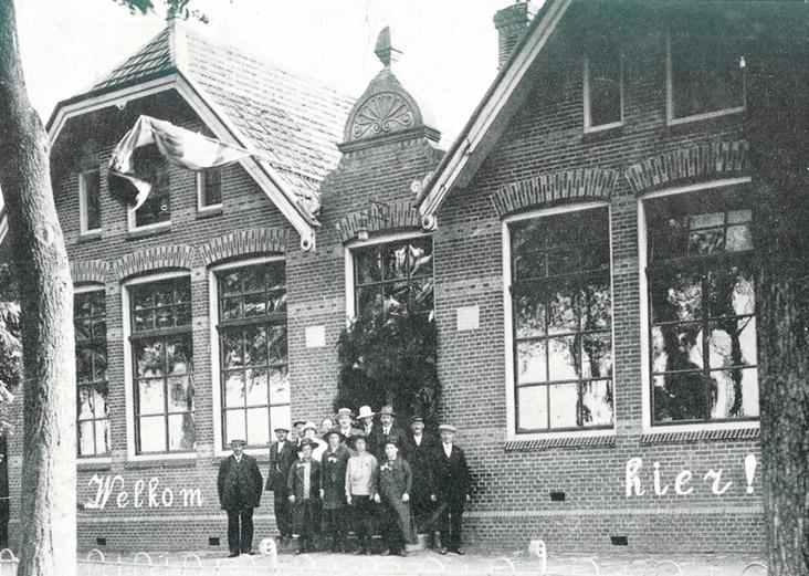 De lagere school in Borgsweer