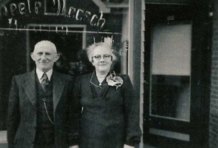 Benjamin Nieweg en Sophia Bamberger,