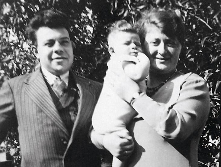 Max en zijn ouders