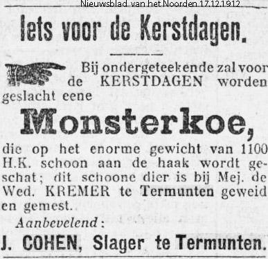 Nieuwsblad van het Noorden 17 december 1912