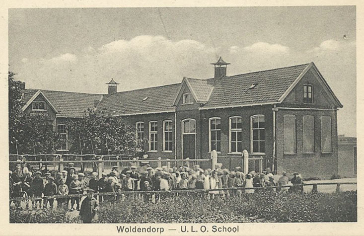 Oude school Woldendorp