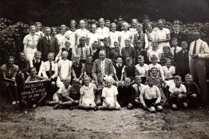 Schoolreis 1939 Oranjewoud